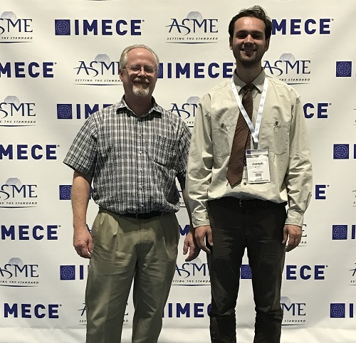 WKU Student Success at the ASME Int'l Mechanical Engineering Congress & Expo