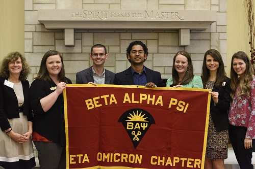 Beta Alpha Psi Earns Superior Chapter Honors