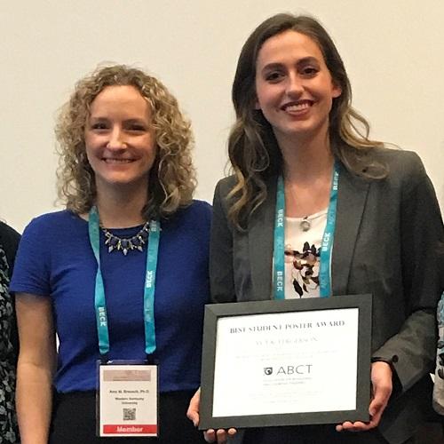 WKU Psych Sci Senior Earns Conference Award