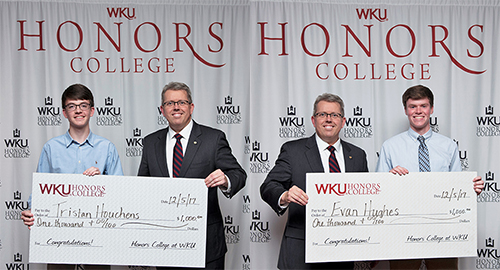 Mahurin Honors College, WBKO recognize Scholar of the Week recipients