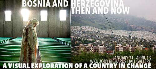 Bosnia and Herzegovina photo exhibition opening, film screening Jan. 31