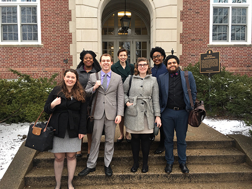 WKU Forensics Team competes in Illinois and Murray