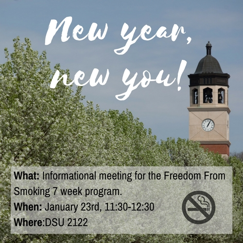 Freedom From Smoking Spring 2018