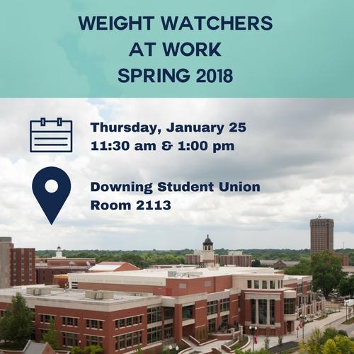 Weight Watchers at Work Spring 2018