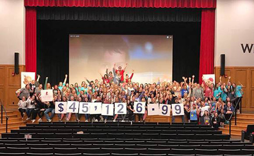 WKU students raise more than $45,000 for St. Jude