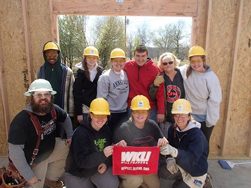 Habitat for Humanity Campus Chapter changes lives for student members