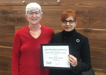 Dr. Gupta Receives 2018 WKU WISE Award