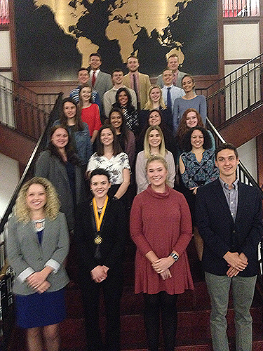 WKU chapter of Phi Eta Sigma National Honor Society inducts 31