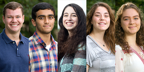 5 Gatton Academy Seniors Recognized as Candidates for 2018 U.S. Presidential Scholar