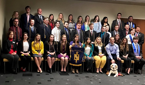 Beta Gamma Sigma Inducts 53