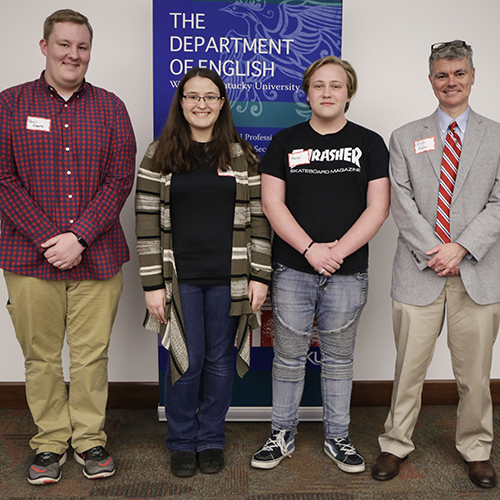 WKU English Department Awards Three Winners for Essay Contest