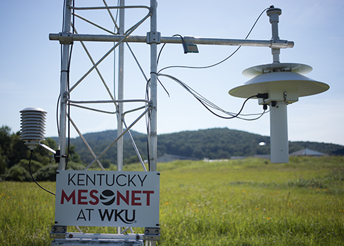 Pulaski & Fulton partners support sites for Kentucky Mesonet at WKU
