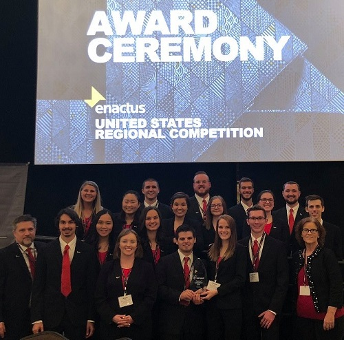 ENACTUS Team Advances to National Competition