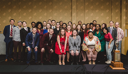 WKU Forensics Team places 2nd at AFA national tournament