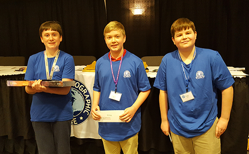 Highlands Middle School student wins 2018 Kentucky Geographic Bee