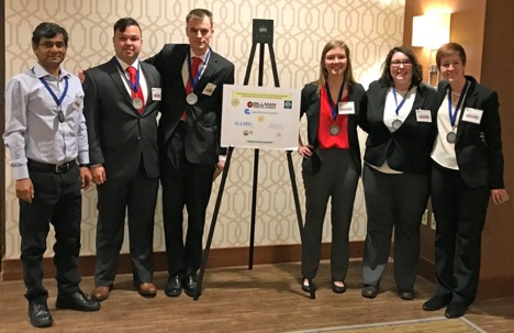 WKU team second in Imperial Barrel Award regional contest
