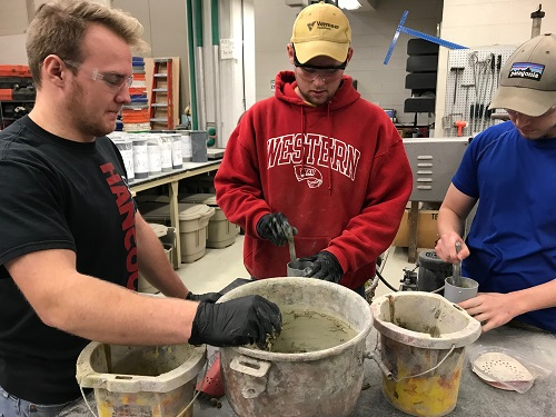 Ready for Competition, WKU's Concrete Canoe Team