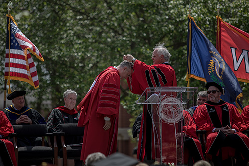 President talks about WKU's future during Investiture Ceremony