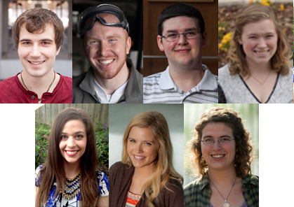 7 students, most in WKU's history, honored by Fulbright Program