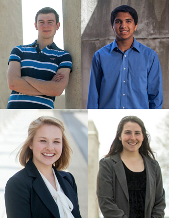 All 4 WKU nominees recognized by Goldwater Scholarship Program