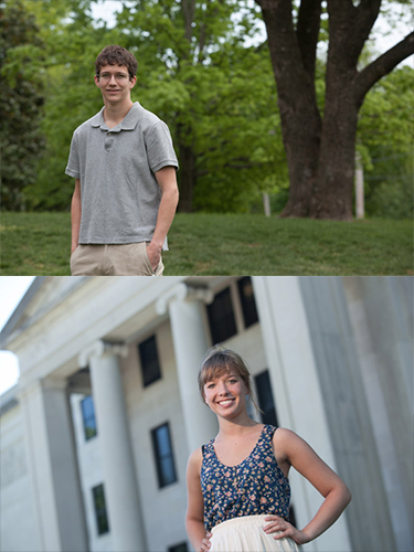 2 WKU students earn honorable mentions for 2012 Udall Scholarships
