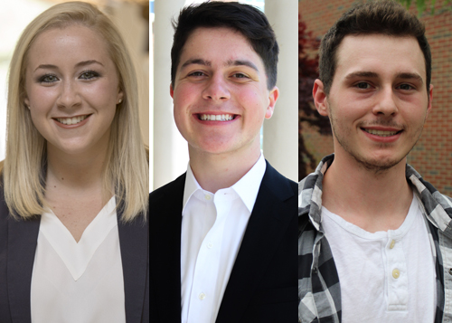 4 WKU students recognized in Boren Scholarship competition