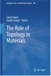 "Dr. Gupta co-edits ""The Role of Topology in Materials"""