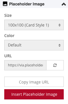 New Gadget: Placeholder Image