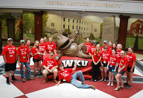 20 students attend WKU Department of Agriculture ASSET Conference