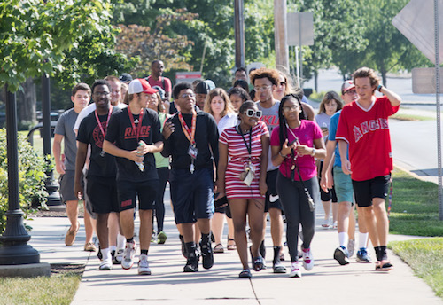 Summer Start provides a unique opportunity for freshmen students