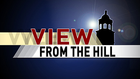 View from the Hill: New Admissions Tour Bus