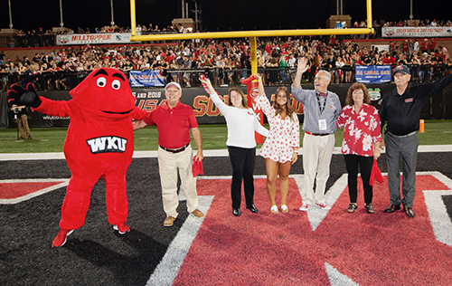 WKU recognizes 2018 Family of the Year