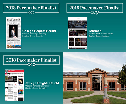 Herald, Talisman finalists for three national Pacemaker Awards