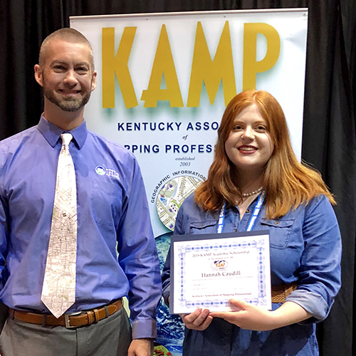 WKU student receives Kentucky's 2018 GIS scholarship