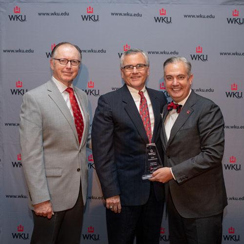 Dr. Benny Lile Honored at WKU Annual Summit Awards