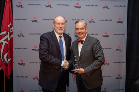 Larry Gildersleeve Honored at WKU Annual Summit Awards
