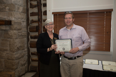 Ogden College of Science & Engineering awards Noah Ashley with Research/Creativity Award for sleep studies