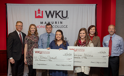 Mahurin Honors College, WBKO recognize 2018-2019 Scholar of the Week recipients