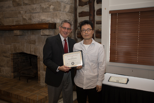 Potter College of Arts & Letters awards Professor Joon Sung with Research/Creativity Award for artistic creative works