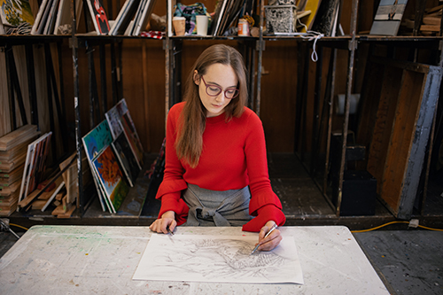 View from the Hill: WKU graduate drawn to career as book illustrator