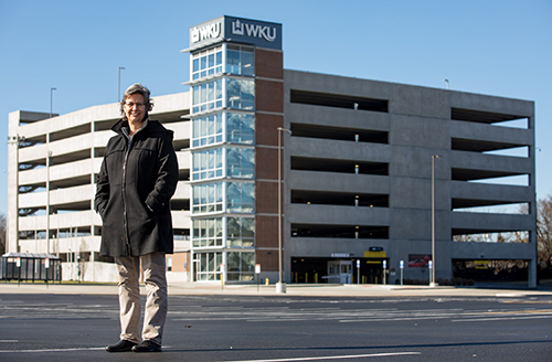 WKU's Parking Structure 3 receives Parksmart certification