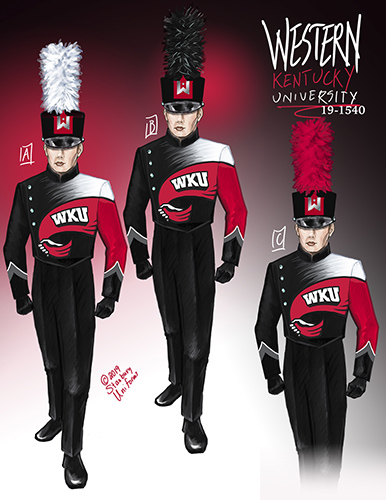 Big Red Marching Band to sport new uniforms this fall