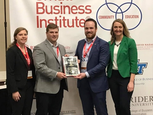 GFCB Entrepreneurship Students Win National Award