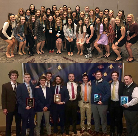 Panhellenic, IFC councils recognized at leadership conferences