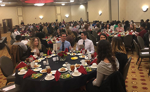 View from the Hill: Hilltopper Etiquette Dinner