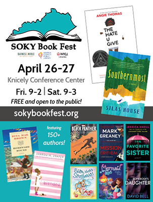 150+ authors and illustrators expected at the 2019 SOKY Book Fest