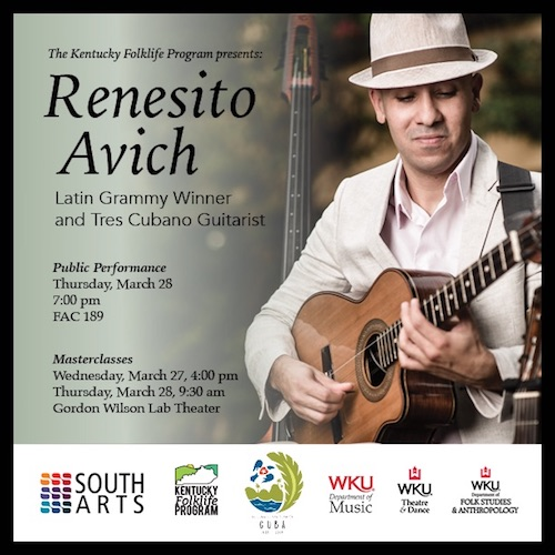 KFP Presents Cuban Artist Renesito Avich this Week