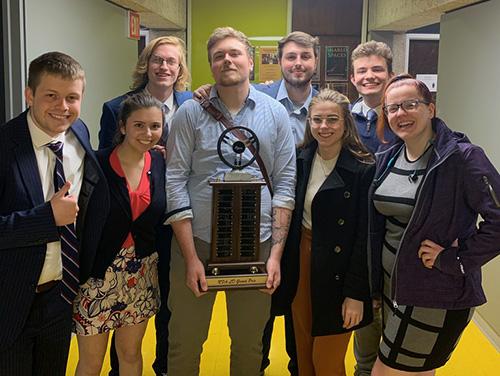 WKU Forensics Team wins first-ever NFA L-D Debate Grand Prix