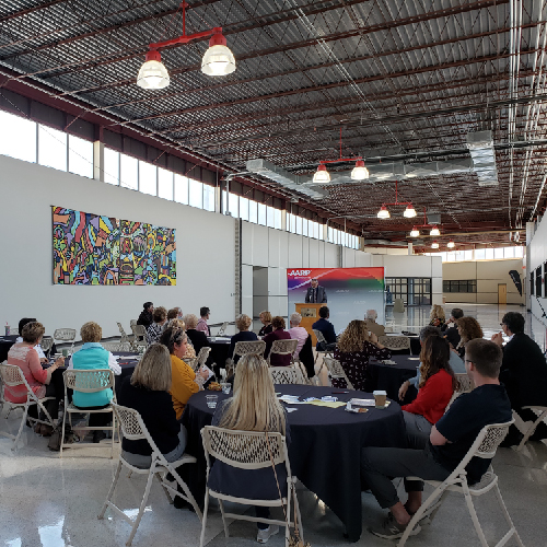 CASHA Partners with AARP and the City of Bowling Green to Host a Reception for the Over 50 Academy