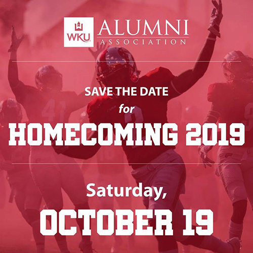 WKU's 2019 Homecoming set for Oct. 19